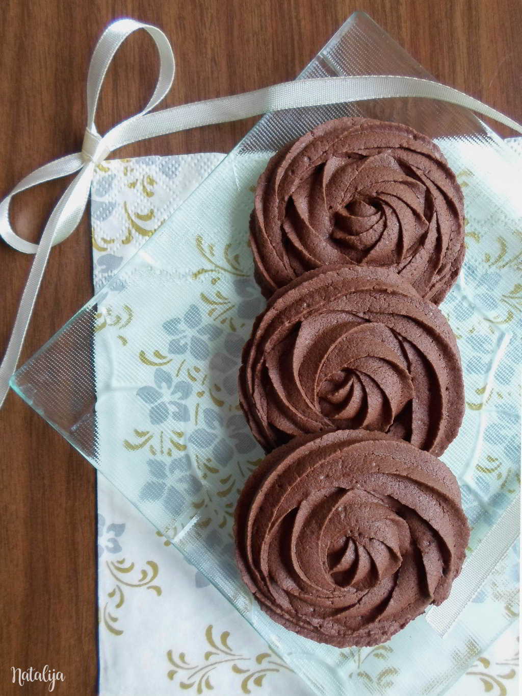 čokoladni špric keksići