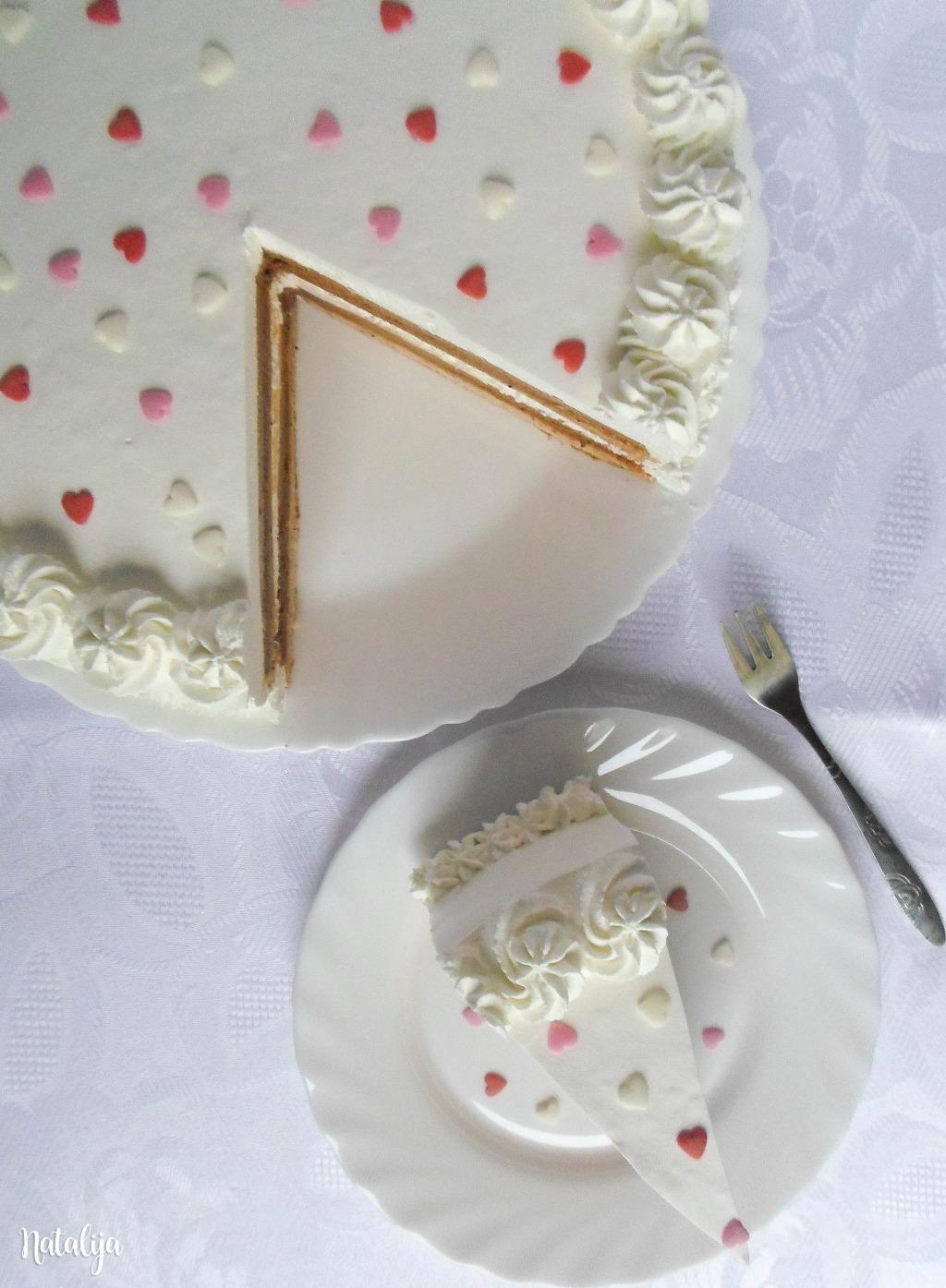 Cimet torta sa lešnikom i čokoladom