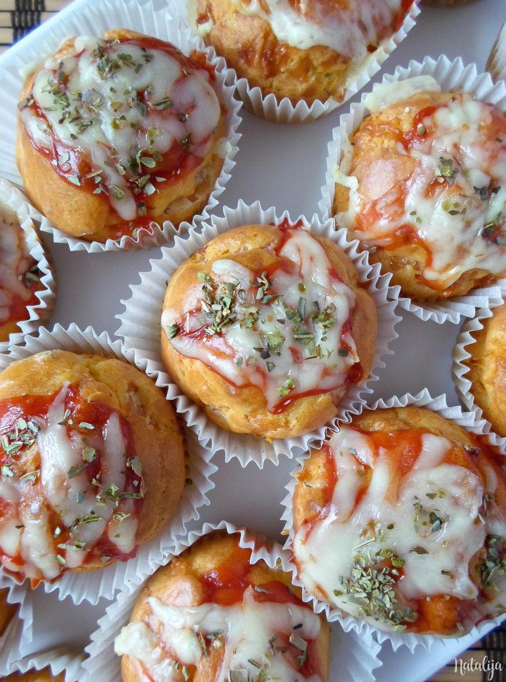 Pizza mafini