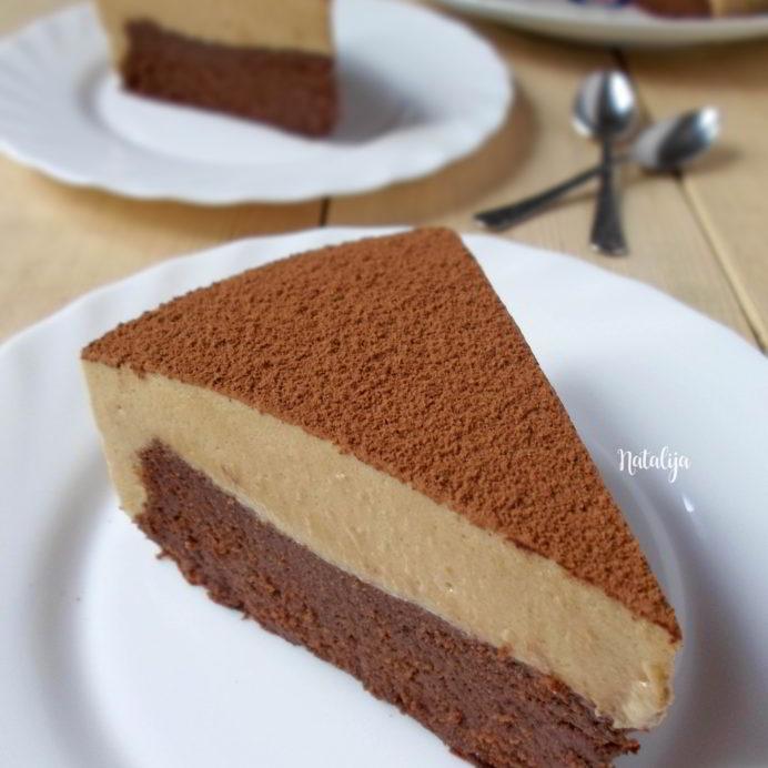 Čokoladna mousse torta sa kafom (bez brašna)