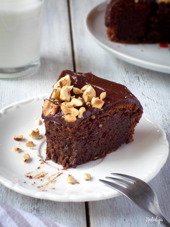 Mud cake od čokolade i lešnika (bez brašna)