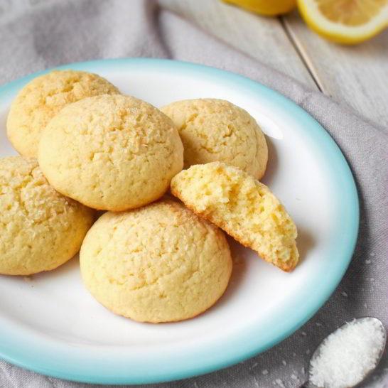 Limun keksi sa kokosom