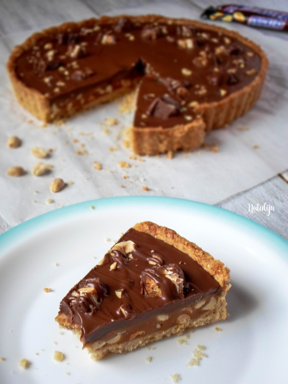 Snickers karamel tart