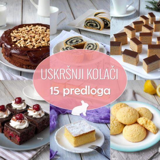 Uskršnji kolači - 15 predloga