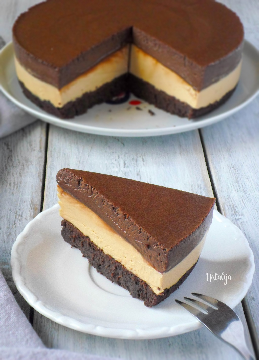Mousee torta sa čokoladom i kikiriki puterom