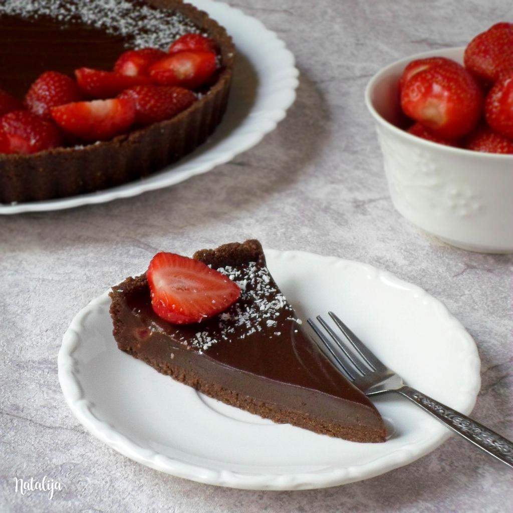 Čokoladni tart bez pečenja