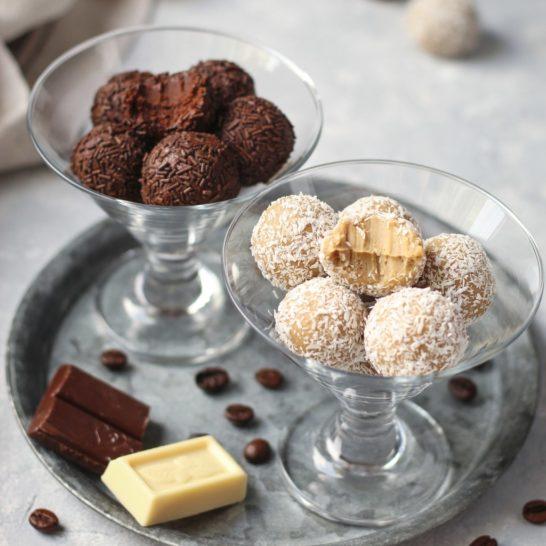 Čokoladni tartufi (truffles) sa kafom