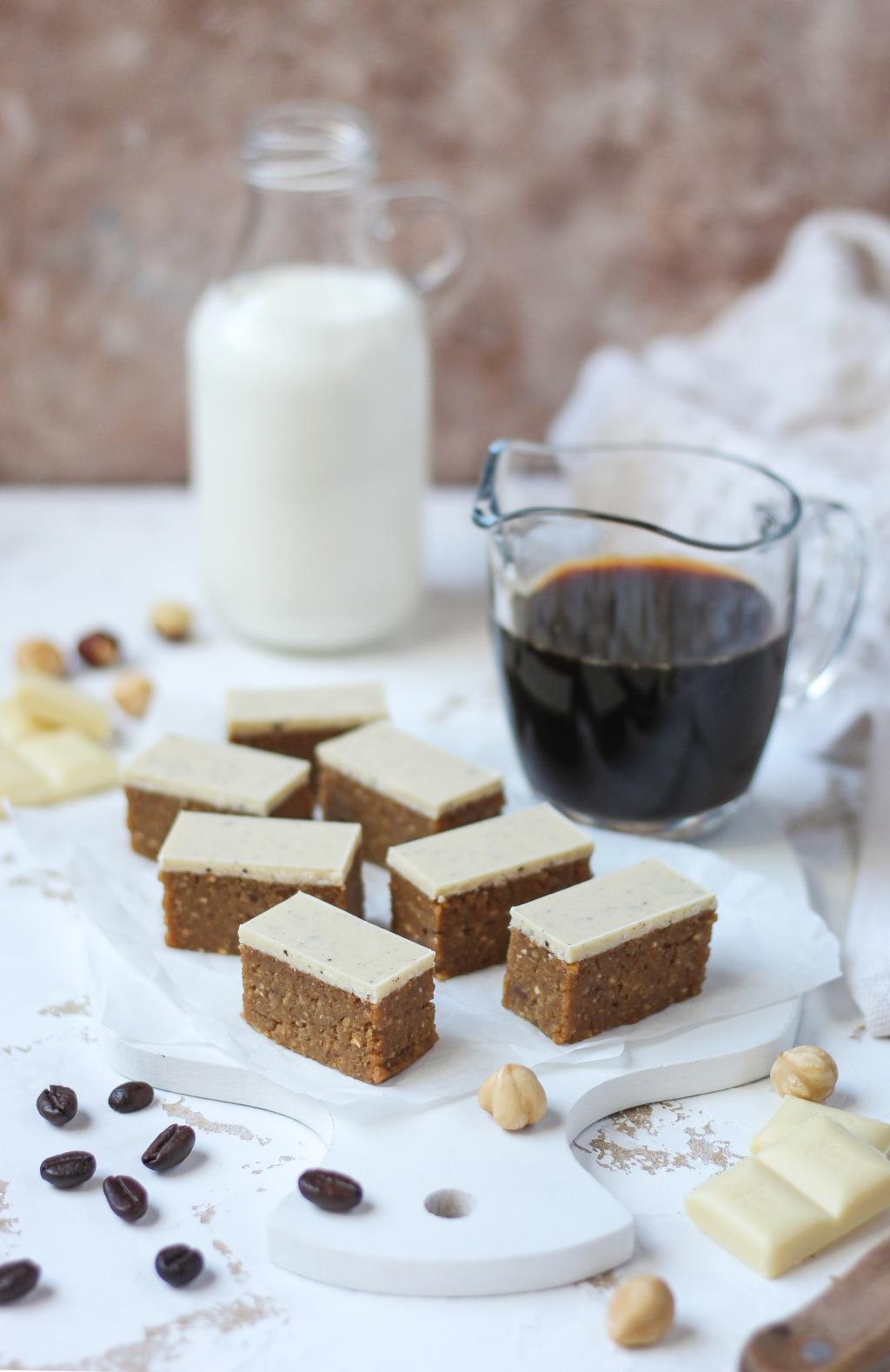 Bajadera sa kafom i belom čokoladom 2