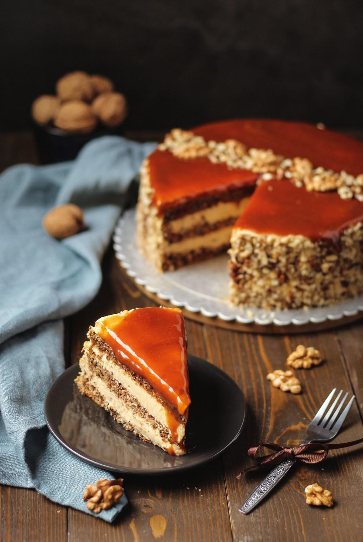Karamel torta sa orasima 5