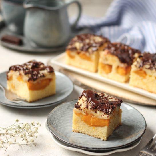 Crumble kolač sa breskvama 2