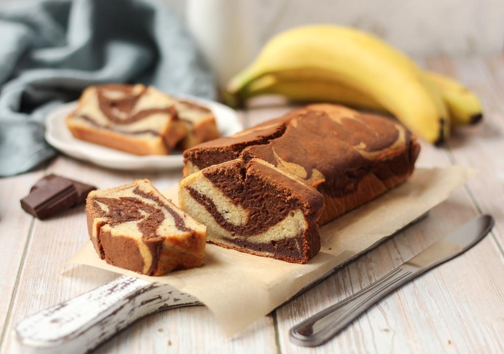 Mramorni banana kolač 2