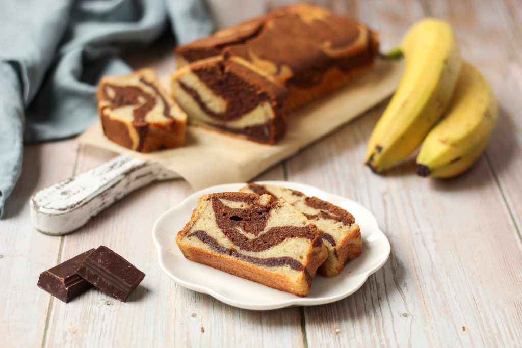 Mramorni banana kolač 1