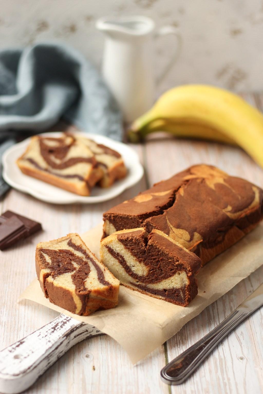 Mramorni banana kolač 4