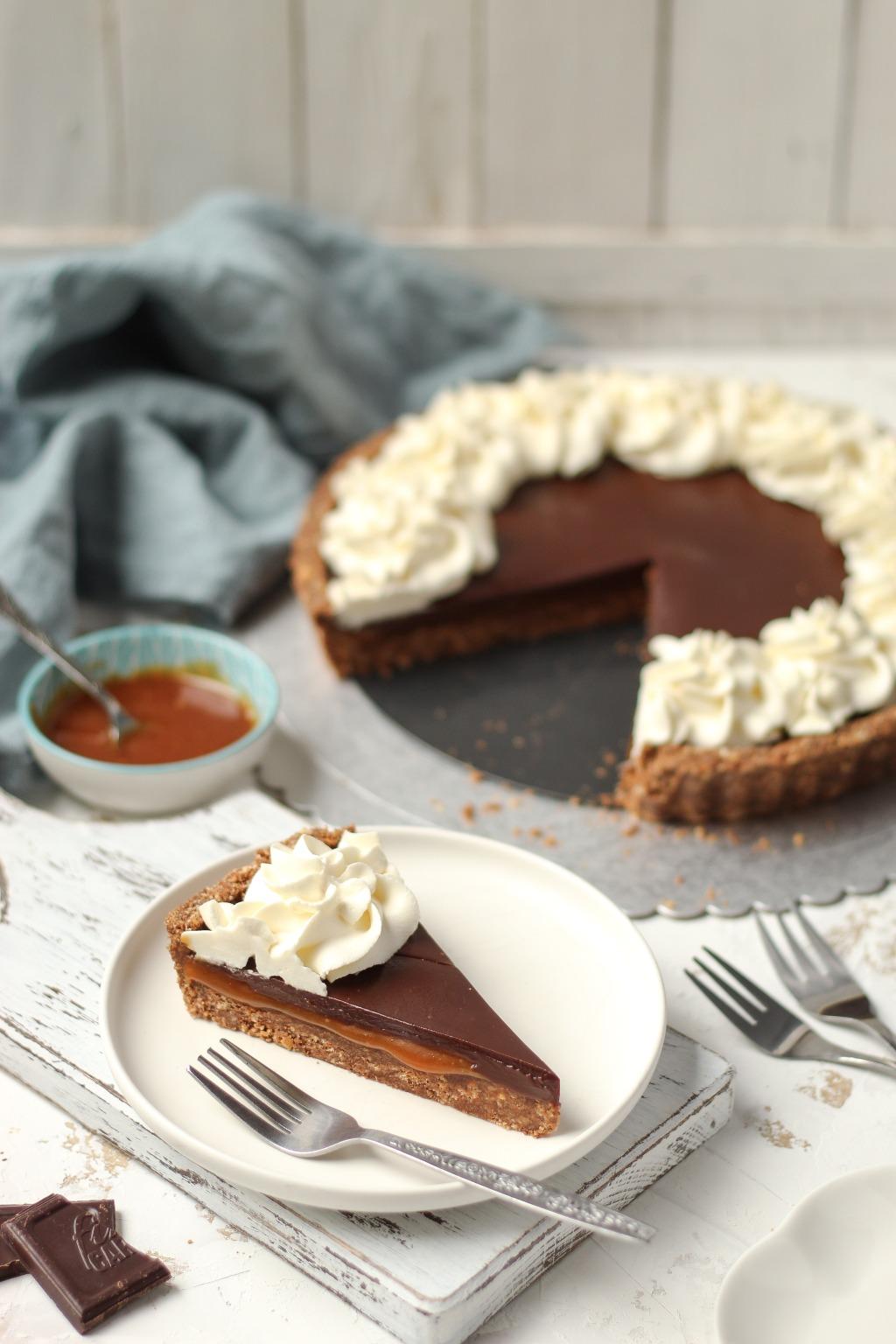 Čoko-karamel tart sa mascarpone kremom 2