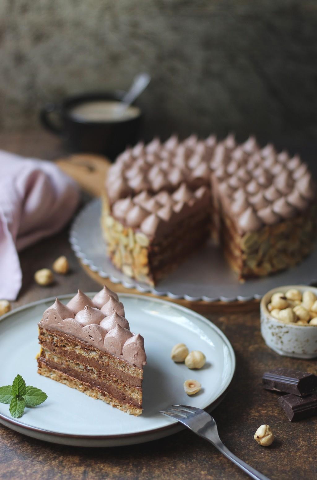 Šamponeze torta 6