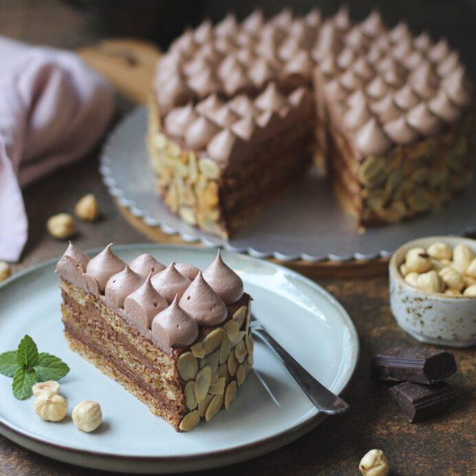Šamponeze torta 8