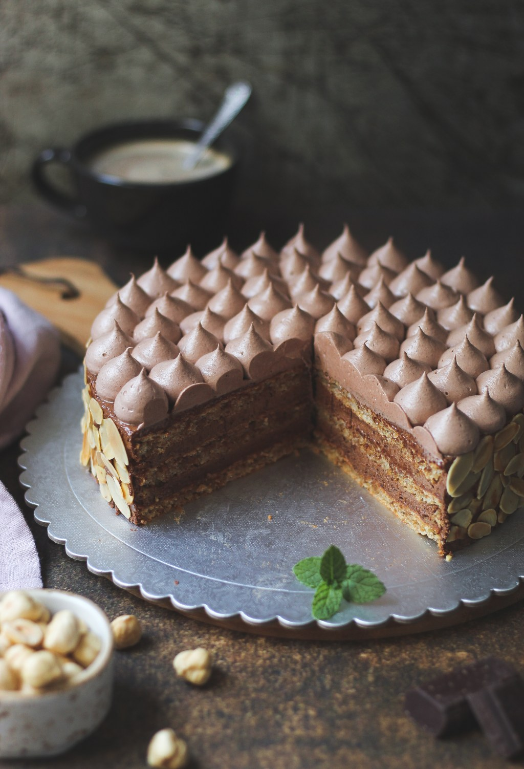 Šamponeze torta 7