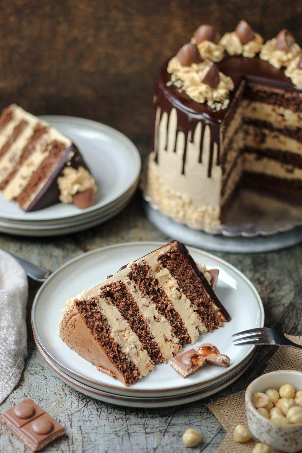 Toffifee torta 4