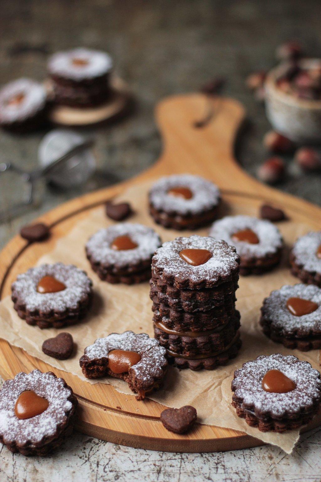 Kakao linzeri sa karamelom 7