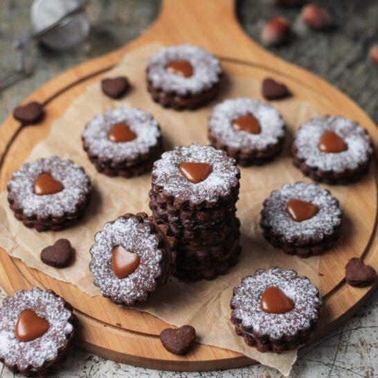 Kakao linzeri sa karamelom 6