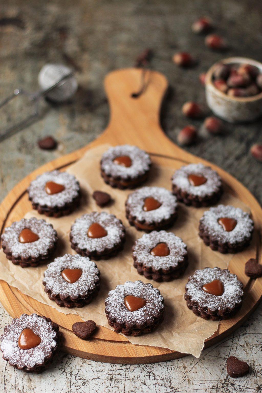 Kakao linzeri sa karamelom 2