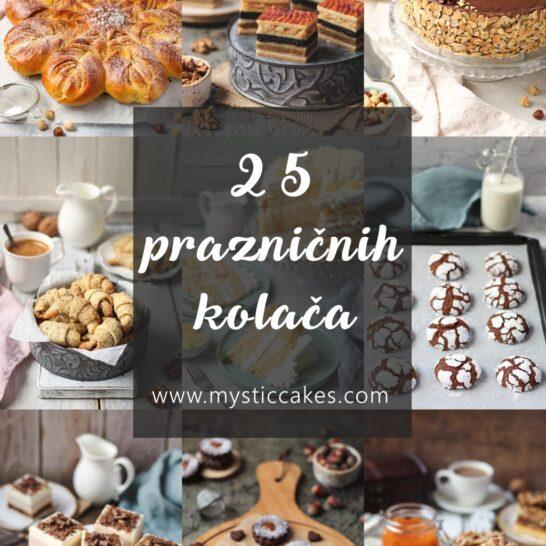 25 prazničnih kolača
