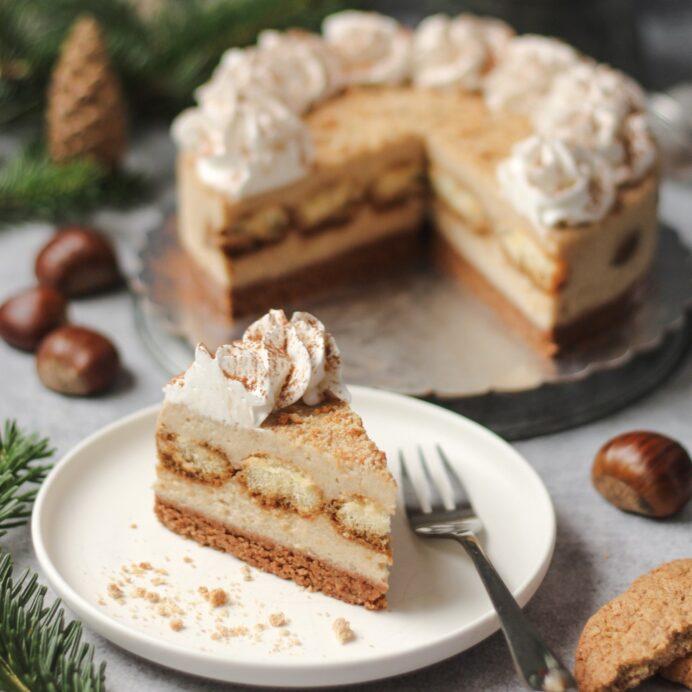 Kesten torta bez pečenja 4