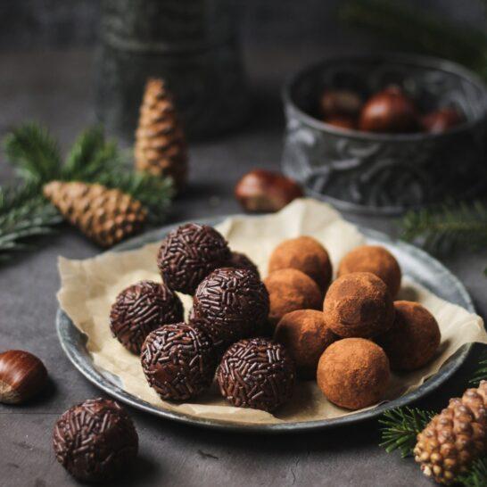 Čokoladne kuglice sa kestenom 1