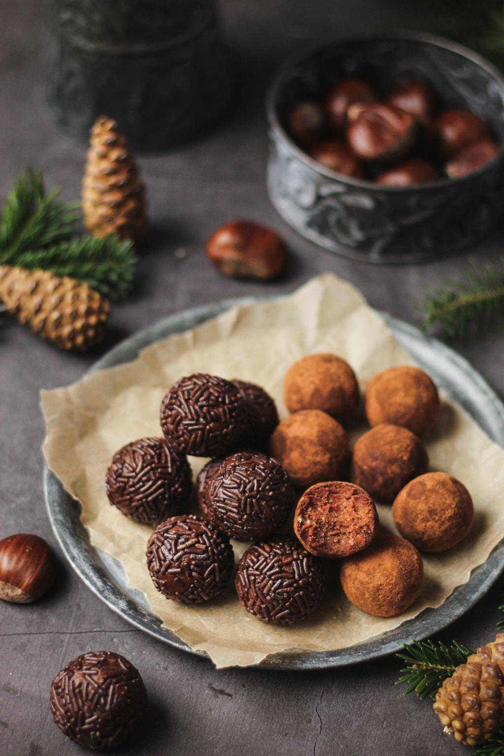 Čokoladne kuglice sa kestenom 3