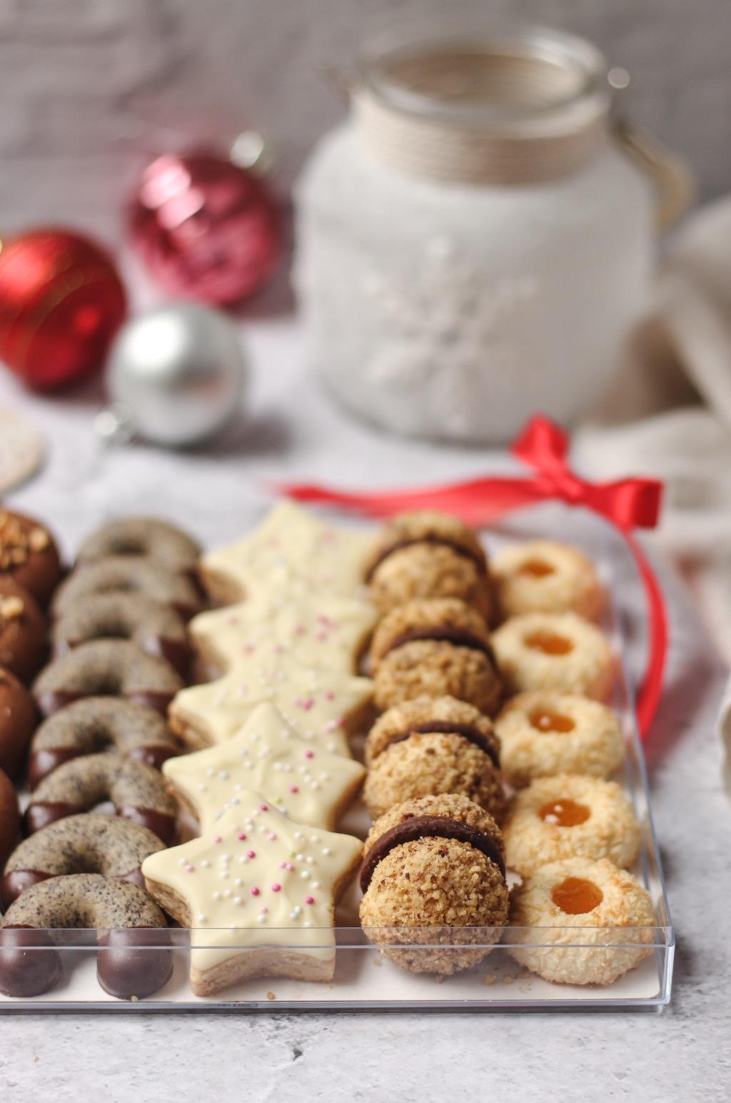 Božićni keksi - 5 vrsta 1