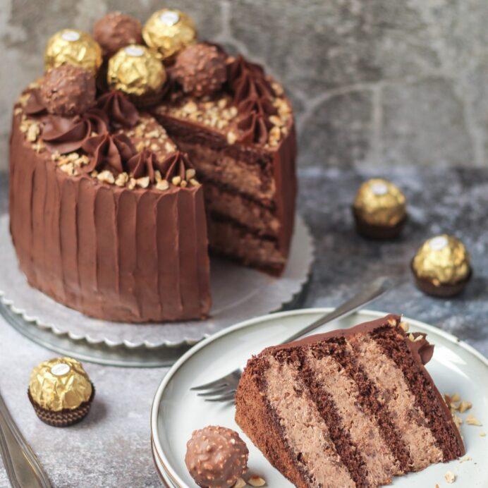 Ferrero Rocher torta 5