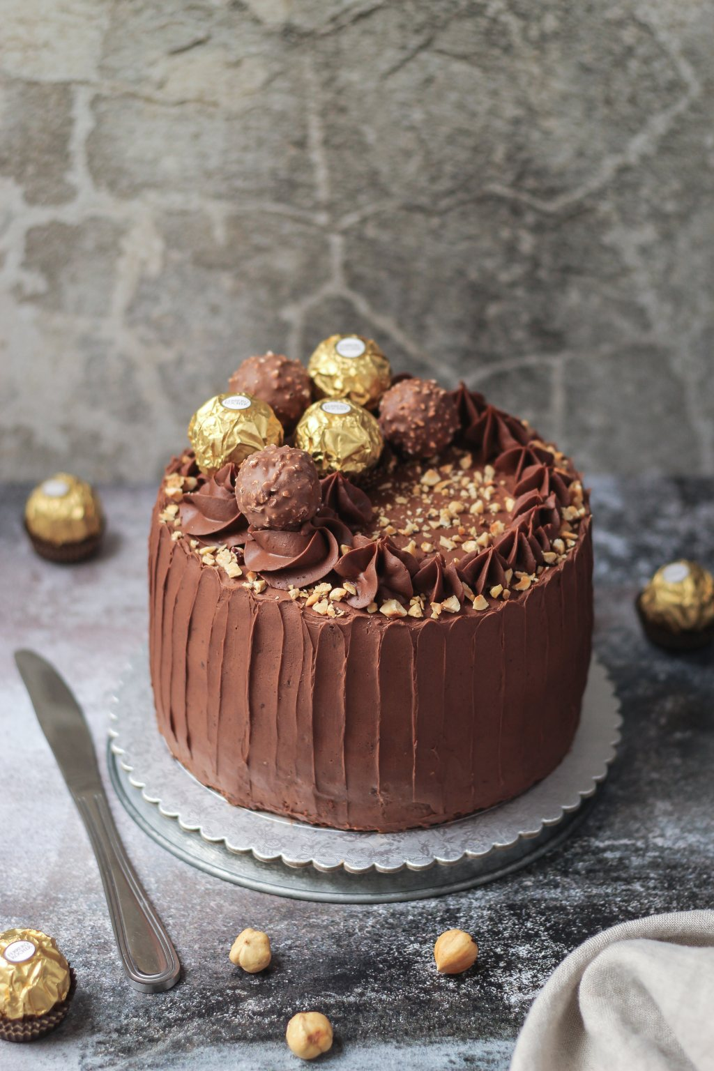 Ferrero Rocher torta 1