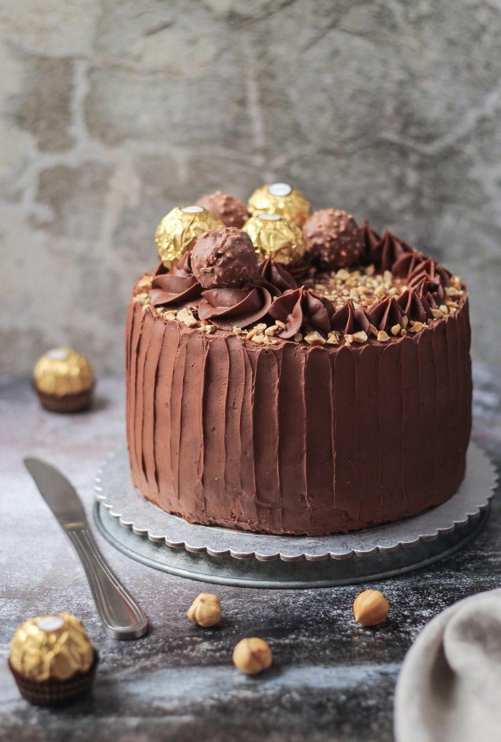 Ferrero Rocher torta 2