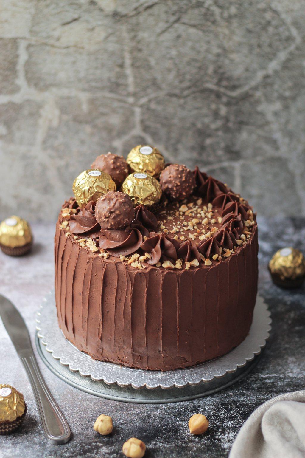 Ferrero Rocher torta 3