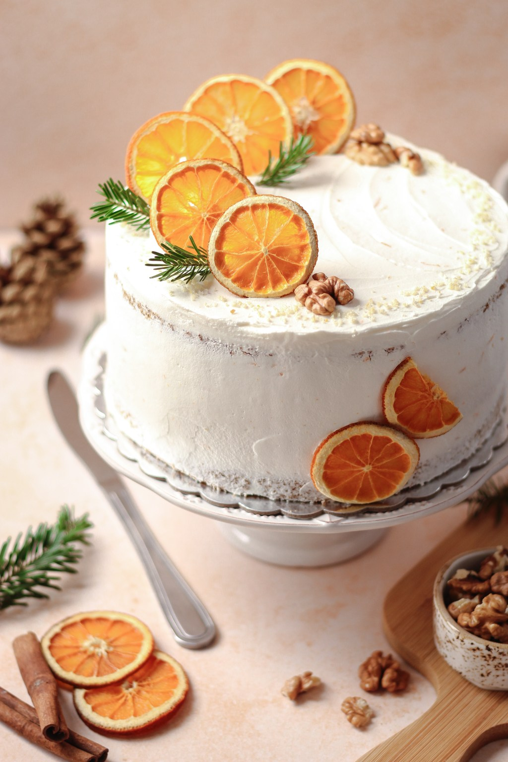 Zimska torta od oraha i narandže 4