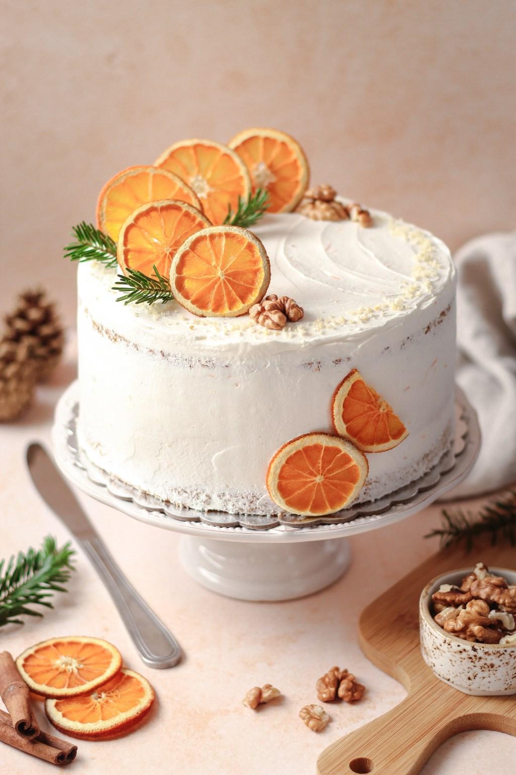 Zimska torta od oraha i narandže 3