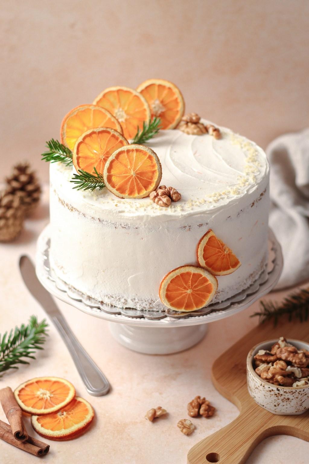 Zimska torta od oraha i narandže 1