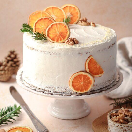 Zimska torta od oraha i narandže 2