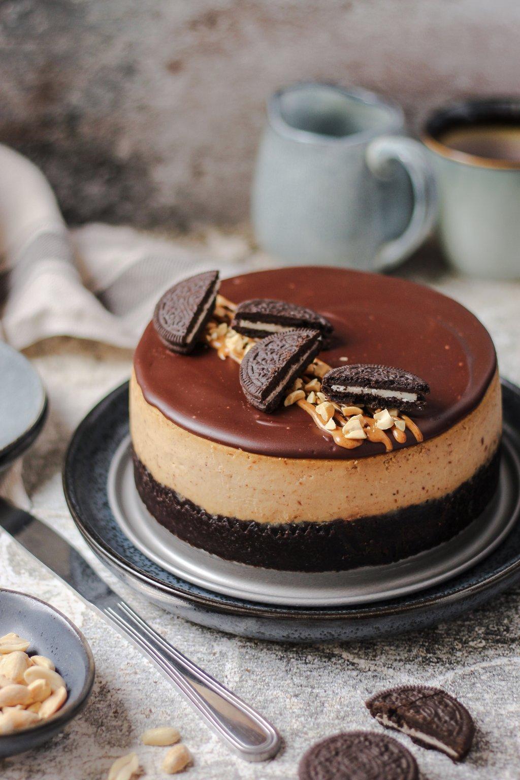 Kikiriki cheesecake sa Oreo keksom 3