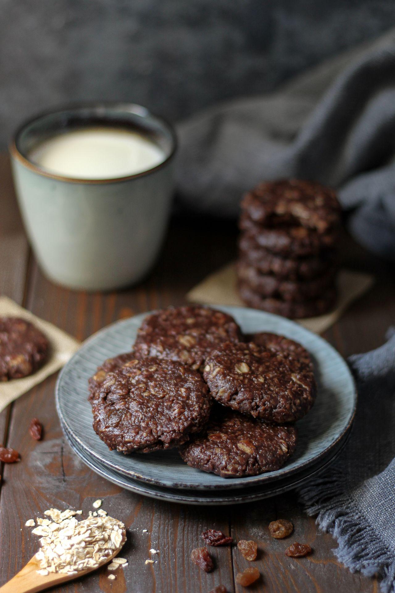 Čokoladni ovseni keksići 2