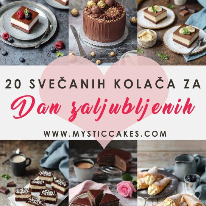 20 svečanih kolača za Dan zaljubljenih