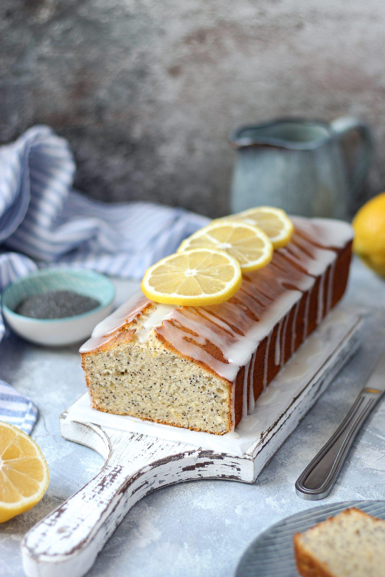 Limun kolač sa makom 5
