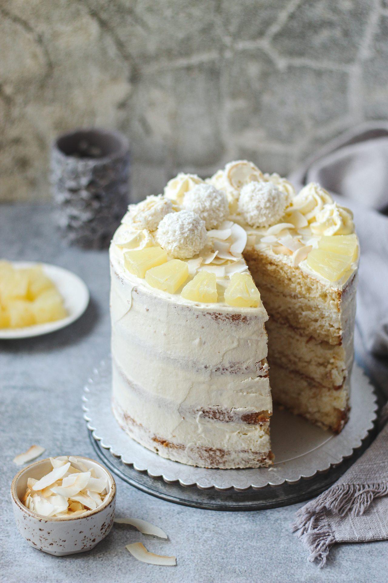 Pina Colada torta 3