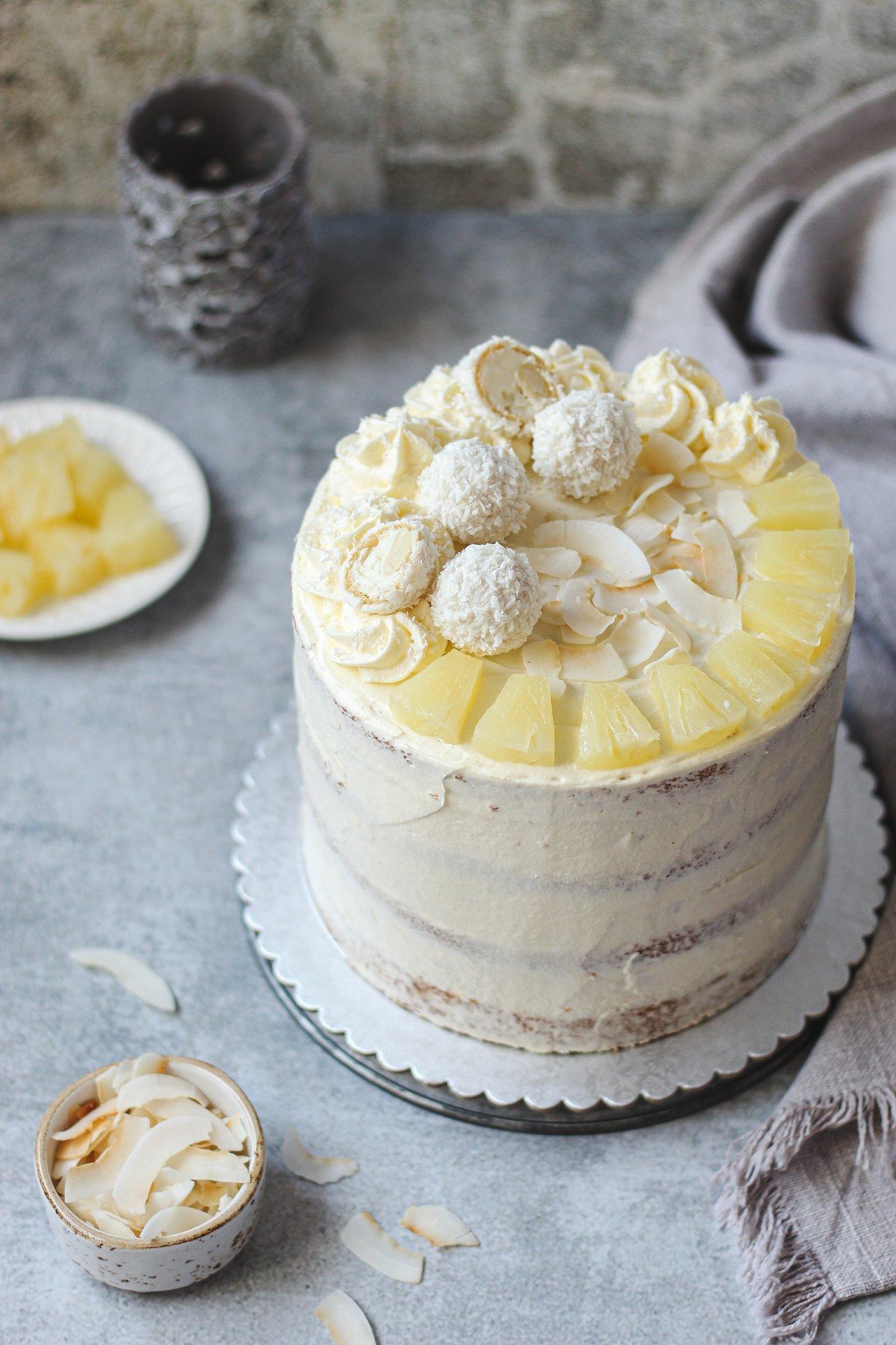 Pina Colada torta 1