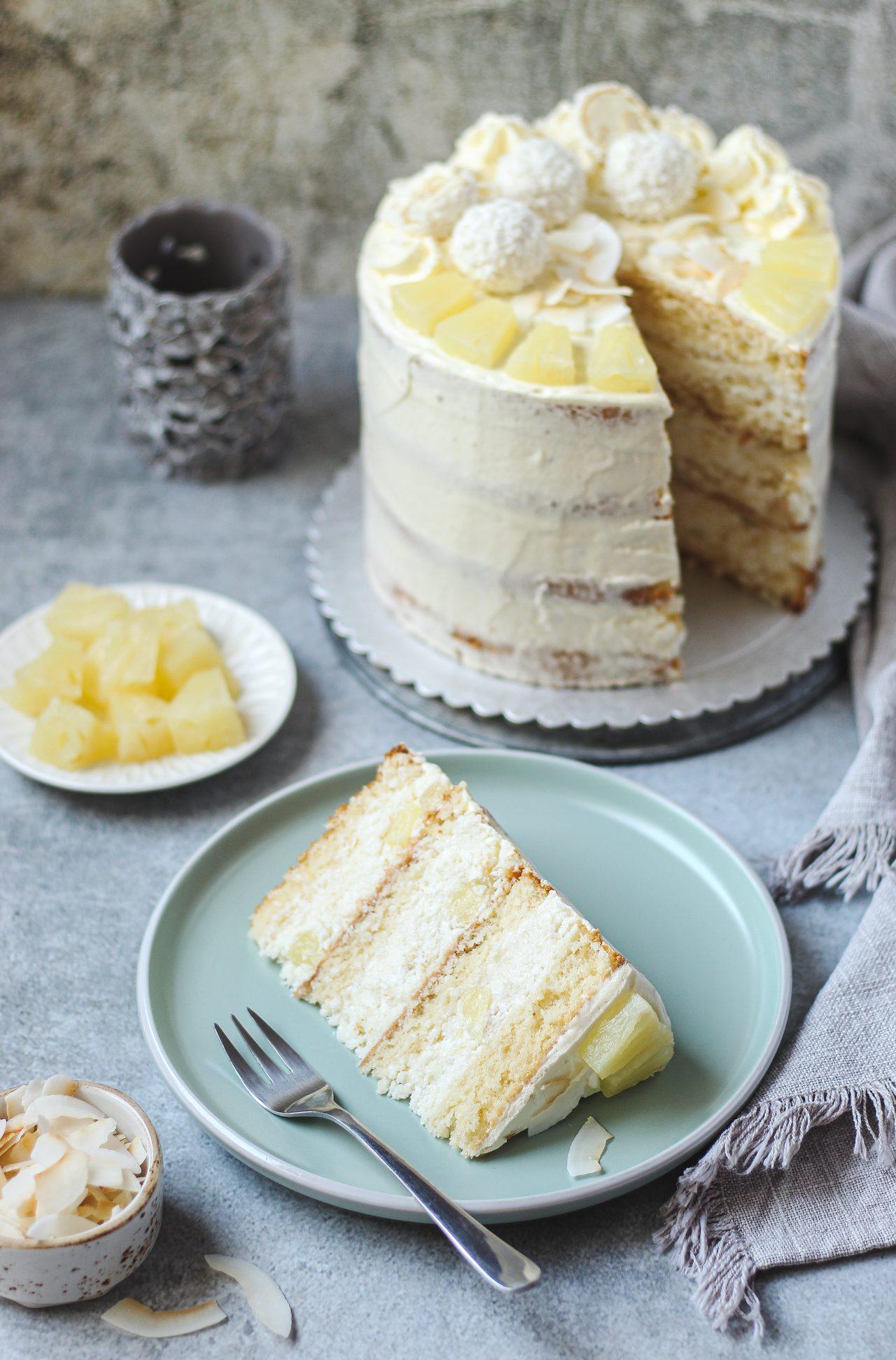 Pina Colada torta 6