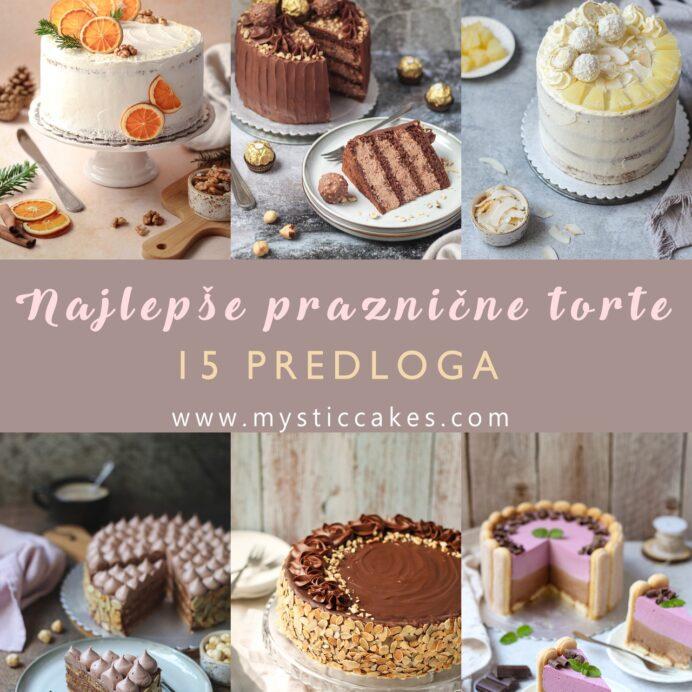 Najlepše praznične torte-15 predloga