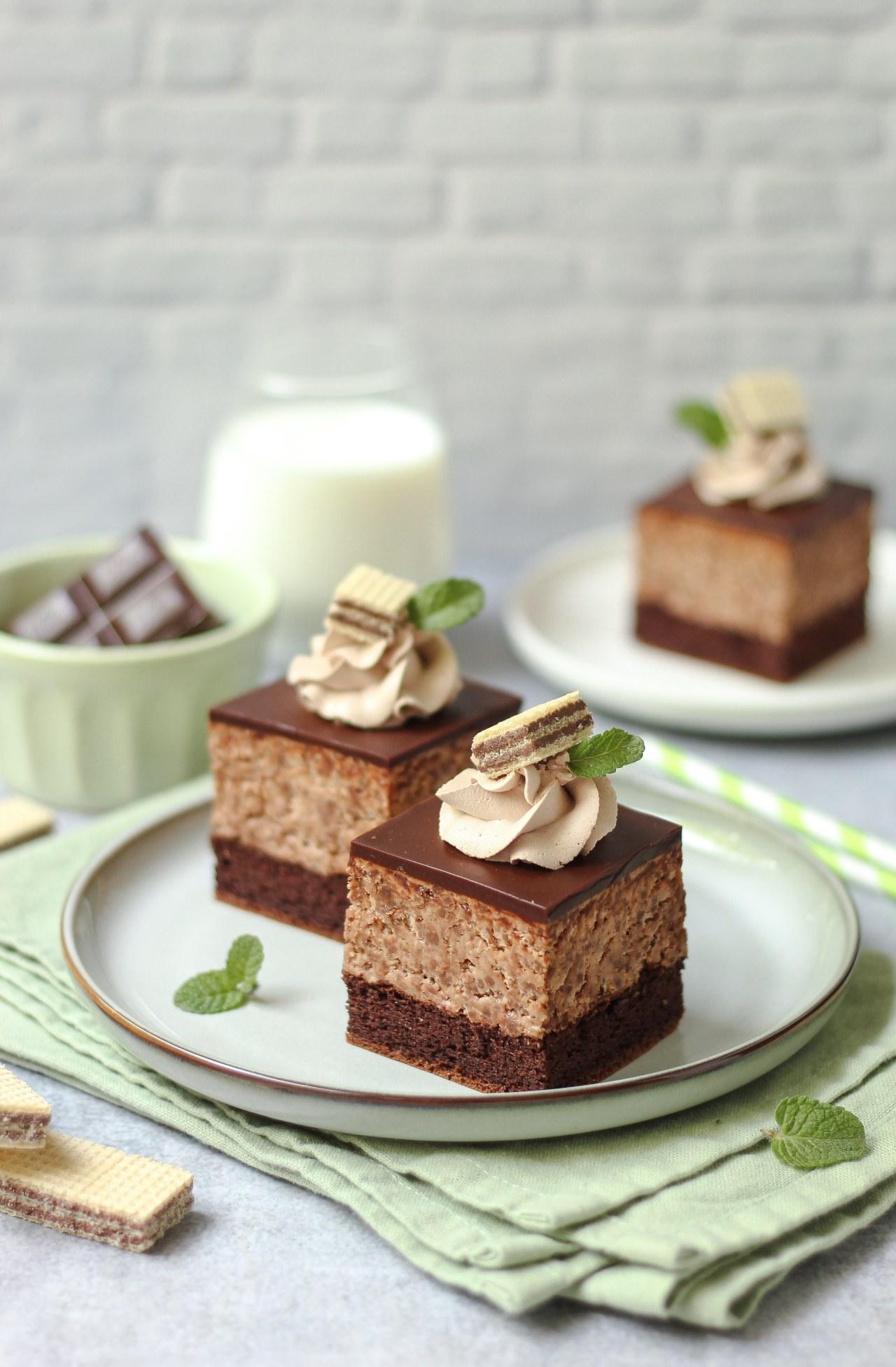 Čokoladne kocke sa lešnik napolitankama 4